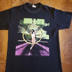 Vintage Drivin' & Cryin' 90's concert tee shirt